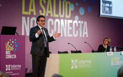 """Dr. Julio Mayol: """"Els farmacèutics poden ajudar els ciutadans a aconseguir una millor adherència als medicaments"""""""