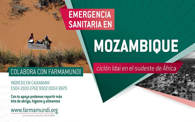 Famamundi reparteix kits d'abric, higiene i aliments a la població afectada pel cicló Idai a Moçambic