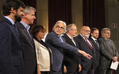 Foment del Treball i PIMEC presenten el manifest 'A favor del progrés de Catalunya'