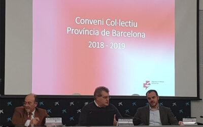 Celebrada la tercera sessió informativa sobre el Conveni col·lectiu d'oficines de farmàcia de Barcelona
