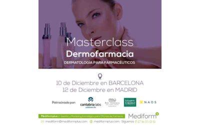 10% de descompte en la II Masterclass de Dermofarmàcia de Mediformplus