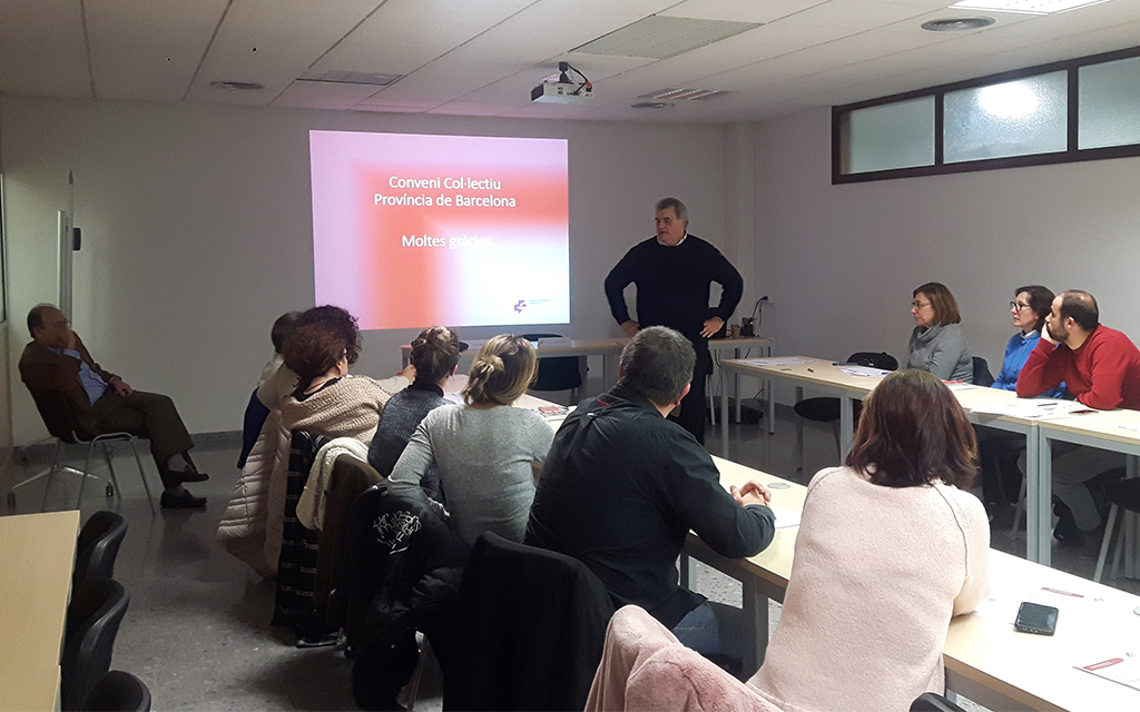 Celebrada la quarta sessió informativa sobre el Conveni col·lectiu d'oficines de farmàcia de Barcelona