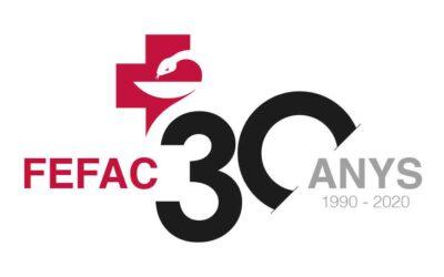 La FEFAC celebra aquest 2020 el seu 30 aniversari