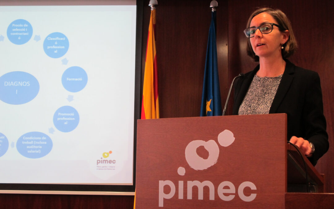 Claus de la sessió en matèria d'igualtat de PIMEC