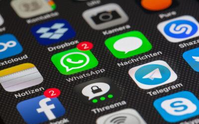 WhatsApp és la xarxa social més utilitzada pels usuaris