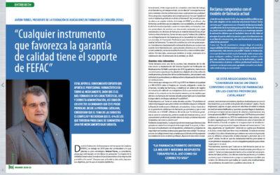 Entrevista de IM Farmacias a Antoni Torres