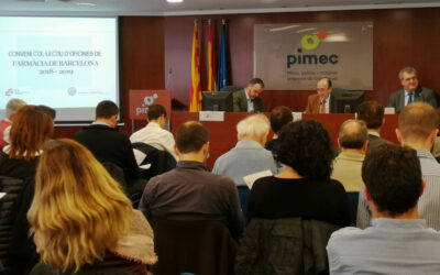 Celebrada la primera sessió informativa sobre el Conveni col·lectiu d'oficines de farmàcia de Barcelona