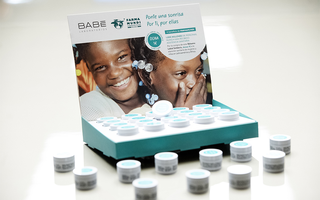 La FEFAC anima a les farmàcies a col·laborar amb la campanya de bàlsams labials de Farmamundi