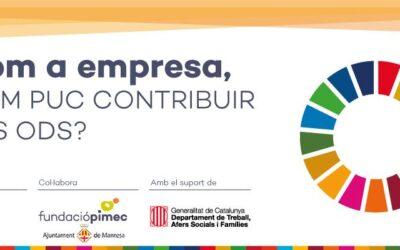 Com a empresa com puc contribuir als ODS?