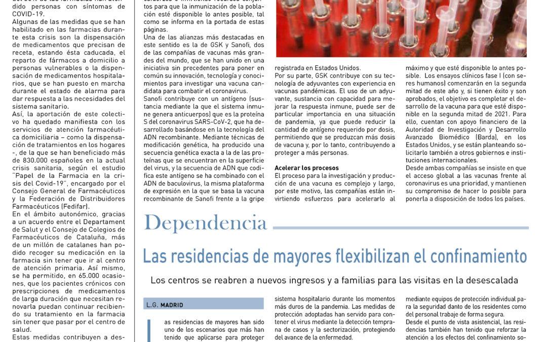 """""""La farmacia ante el virus"""". Article publicat al El País Medicina"""