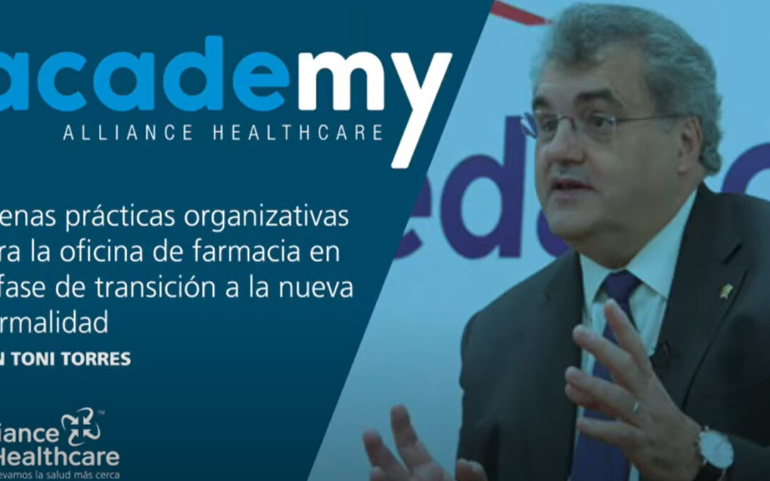 Webinar d'Antoni Torres per a Alliance Healthcare Academy
