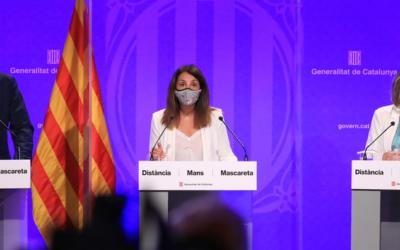 El Govern estén a bona part de l'àrea metropolitana de Barcelona, la Noguera i la resta del Segrià les mesures contra la Covid-19 preses a l'Hospitalet de Llobregat