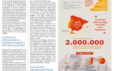 """""""COVID-19 y la contribución de las farmacias"""". El País Medicina"""