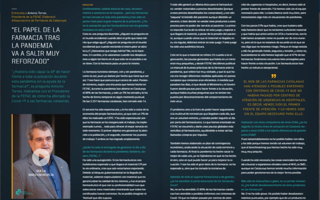 Entrevista de PMFarma a A. Torres