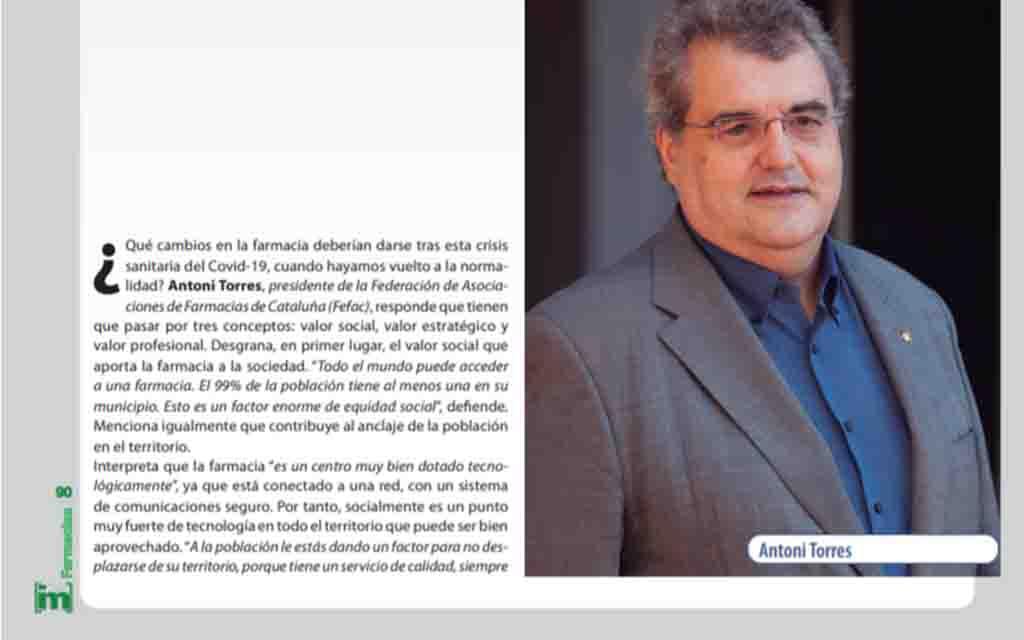 Entrevista al president de FEFAC a IM Farmacias