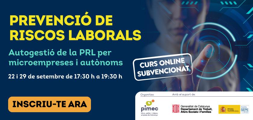 PIMEC Formació: curs online dies 22 i 29 de setembre