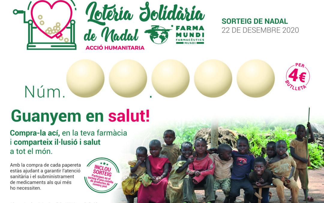 La FEFAC anima a les farmàcies a col·laborar amb la Loteria Solidària de Nadal de Farmamundi