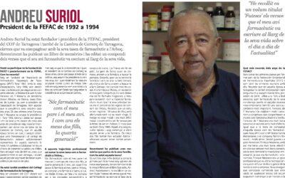 Entrevista a Andreu Suriol, president de FEFAC de 1992 a 1994