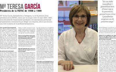 Maria Teresa García, presidenta de la FEFAC de 1998 a 1999