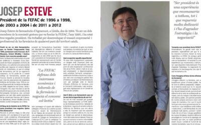 Entrevista a J. Esteve, president de FEFAC (1996, 2003, 2011)