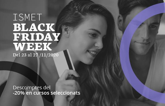 Black Friday de l'Escola ISMET