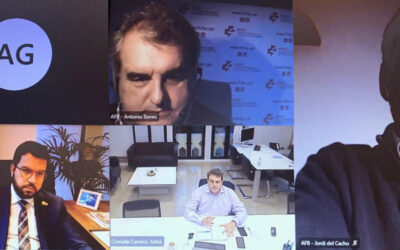 FEFAC se reúne con Pere Aragonès y Adrià Comella