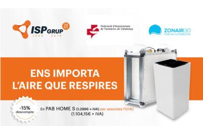 ISP Grup, nou proveïdor de la FEFAC
