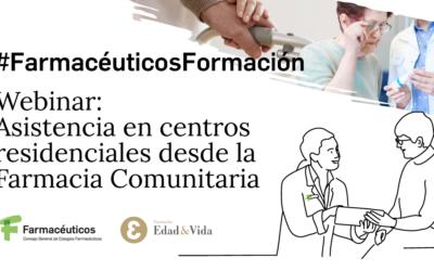 Sessió informativa: Assistència en centres residencials desde la farmàcia comunitària