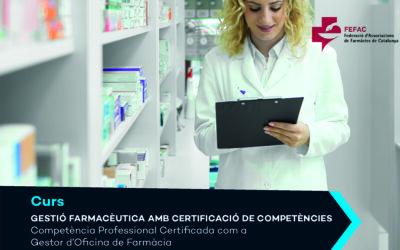 """Primera edició del """"Curs de Gestió Farmacèutica amb Certificació de Competències"""" de FEFAC i PIMEC"""