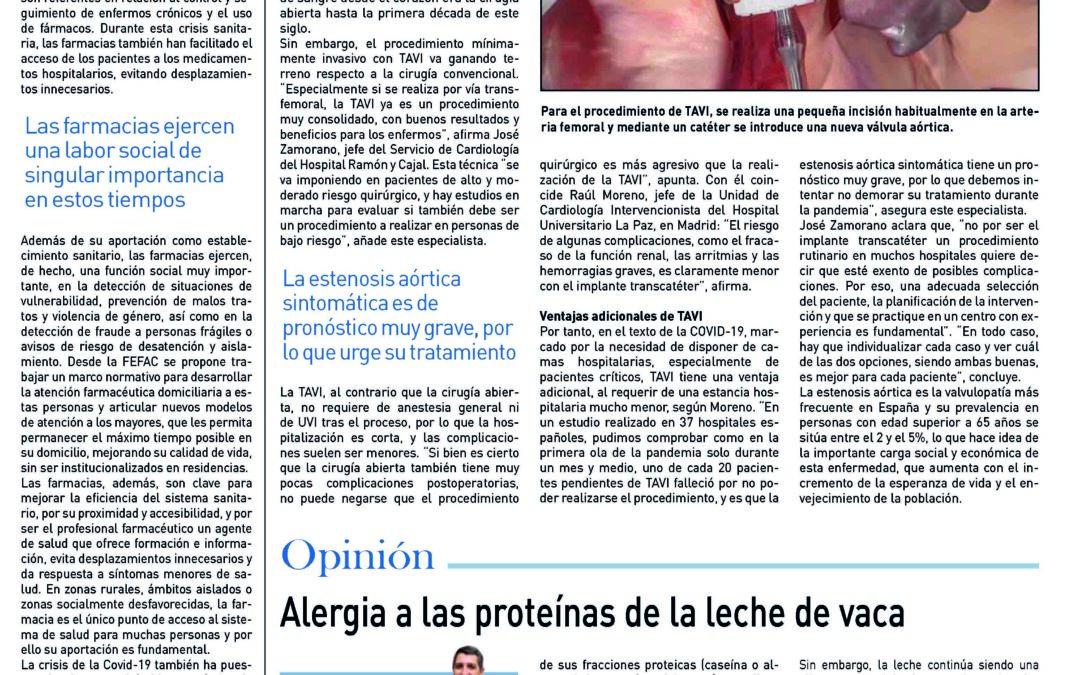 """""""Aportación a la salud de las personas"""". Suplement de Medicina. Diari El País"""