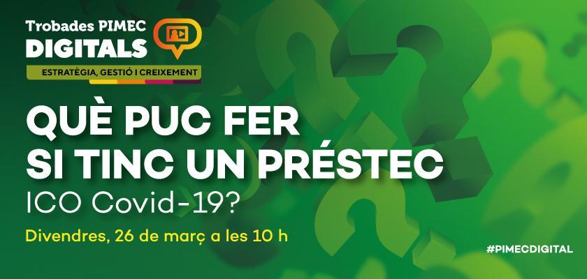 Trobada digital de PIMEC, divendres 26 de març, a les 10 h