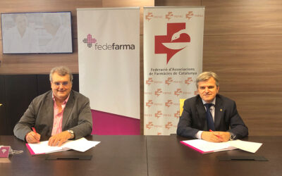 FEFAC y Fedefarma firman un convenio de colaboración para apoyar el desarrollo y avance del farmacéutico comunitario