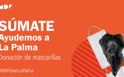 """Mediformplus dóna 4.500 mascaretes per a La Palma i llança la campanya solidària """"Súmate"""""""