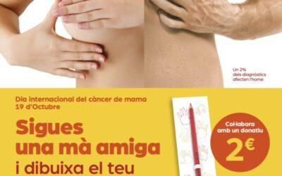 Les farmàcies i Oncolliga, juntes per prevenir el càncer de mama femení i masculí